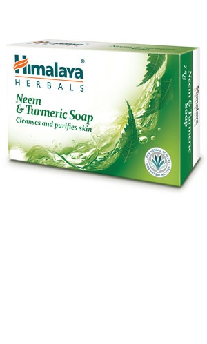 Neem & Turmeric Soap (Himalaya) 125gm
