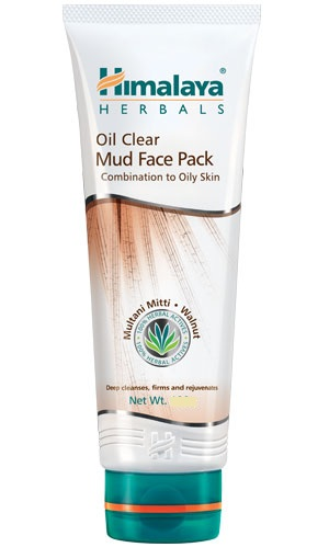Oil Clear Mud Face Pack (Himalaya) 50gm