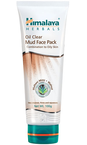 Oil Clear Mud Face Pack (Himalaya) 100gm