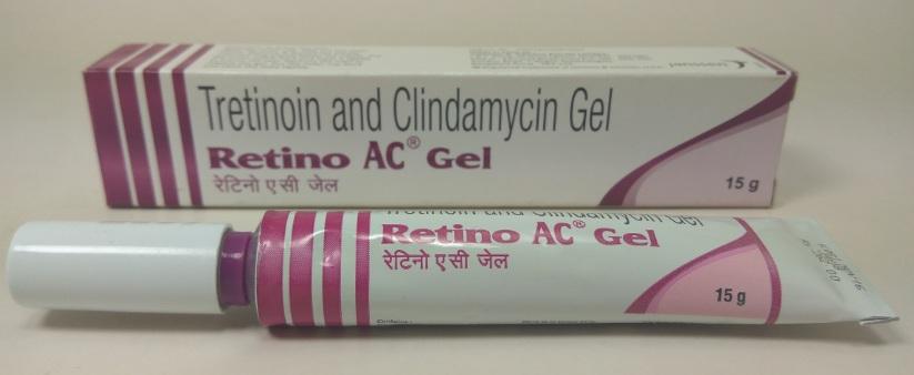 Retino AC Gel 0.025% + 1% (15 gm)