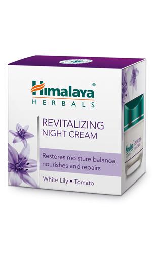 Revitalizing Night Cream White (Himalaya) 50gm