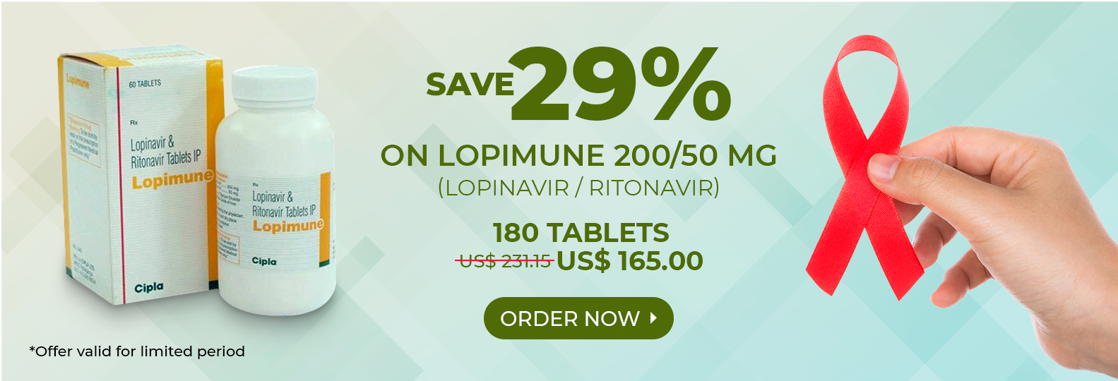 SAVE 29% on Lopimune